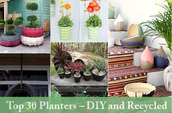 Top 30 Planters Diy And Recycled My Select Life By