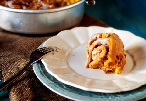 Pumpkin Cin Rolls 2