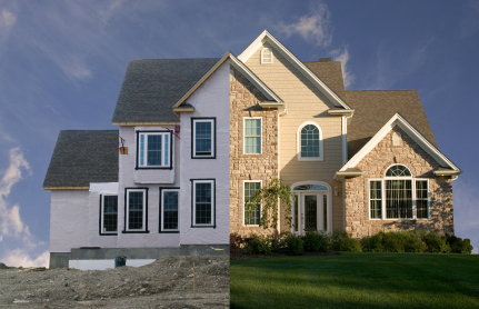 House: before and after
