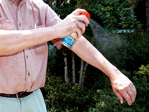 Repellent Giveaway Aids West Nile Battle