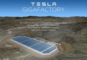 What the Tesla Gigafactory might look like