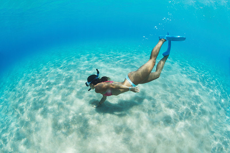 Nude key west snorkel