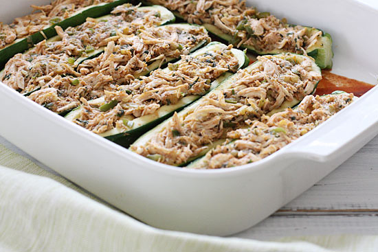 Chicken-Enchilada-Stuffed-Zucchini-Steps