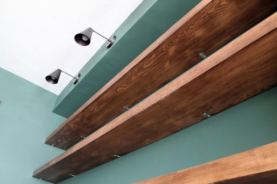 Diy Solid Wood Wall To Wall Shelves My Select Life By